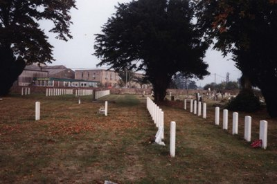 Commonwealth War Graves Blandford Forum Cemetery