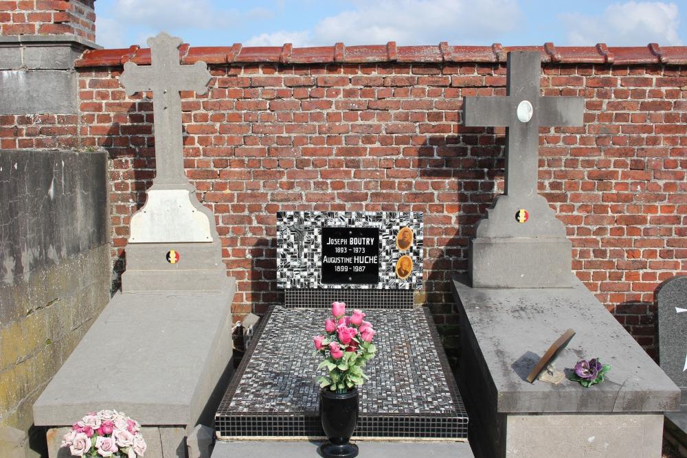 Belgian War Graves Wodecq