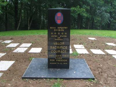 Monument U.S. 30th Infantry Division