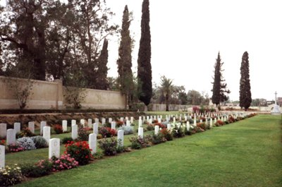 Commonwealth War Cemetery Ismailia