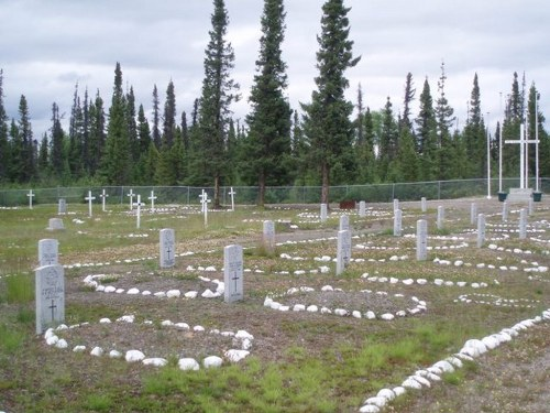 Commonwealth War Graves Goose Bay Joint Services Cemetery