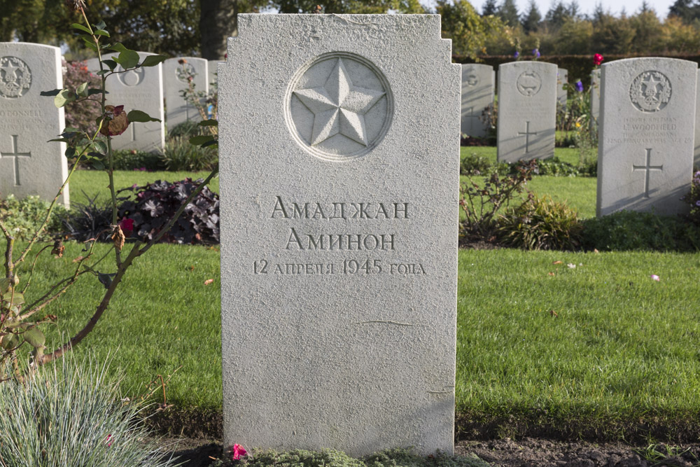 Soviet War Grave Canadian War Cemetery Groesbeek
