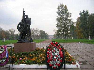Sovjet Oorlogsbegraafplaats Bolsheohtinskoe