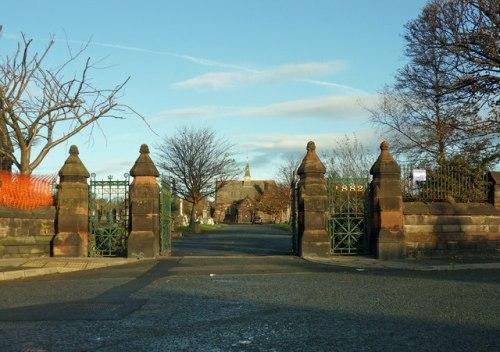 Commonwealth War Graves Rake Lane Cemetery