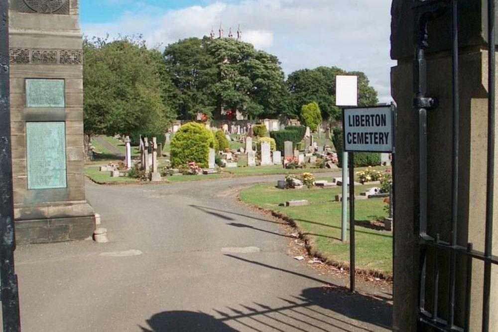 Commonwealth War Graves Liberton Cemetery
