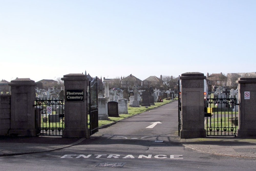 Commonwealth War Graves Fleetwood Borough Cemetery