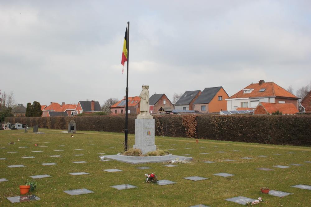 Monument en Gedenkstenen Oudstrijders Grembergen