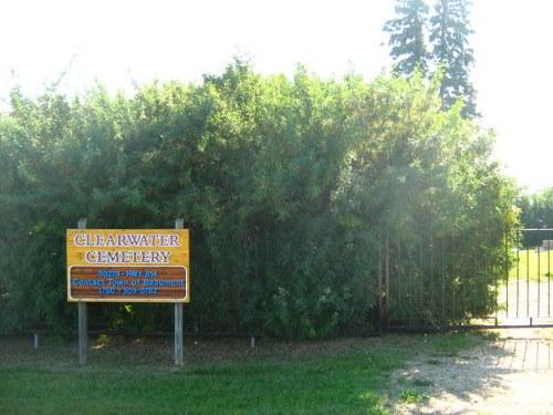 Oorlogsgraf van het Gemenebest Clearwater Cemetery