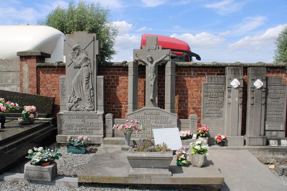 Veteran War Graves Wasmes-Audemetz-Briffoeil