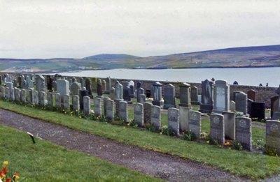 Oorlogsgraven van het Gemenebest Lerwick Cemetery