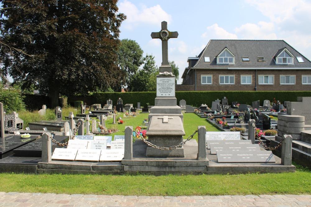 Belgische Oorlogsgraven Aarsele