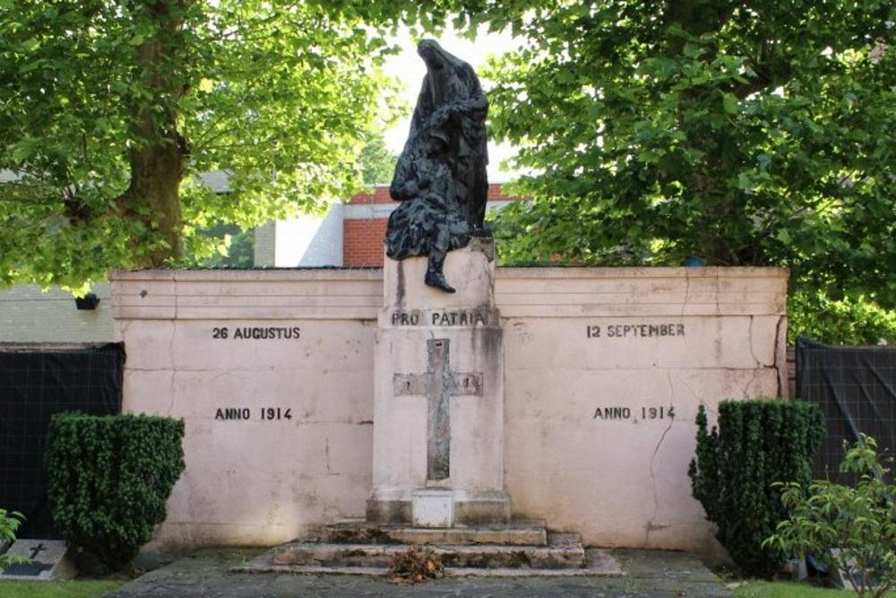 War Memorial Battle of Schiplaken and Belgian War Graves
