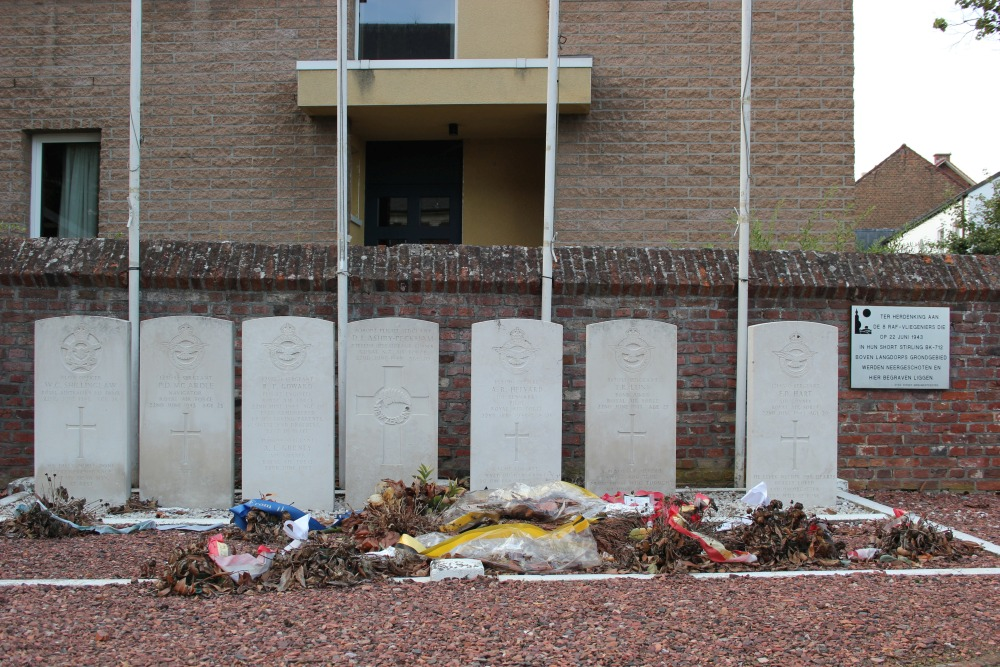 Commonwealth War Graves Langdorp