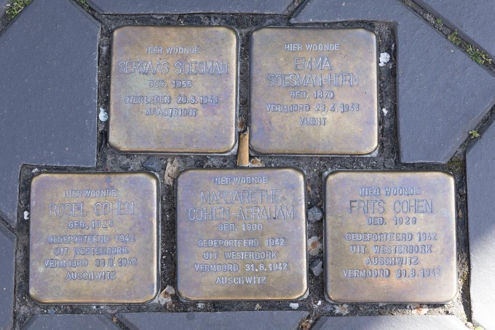 Stumbling Stones Berkelstraat 15