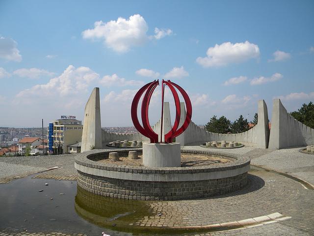 Monument Kosovo-oorlog en Martelarenbegraafplaats