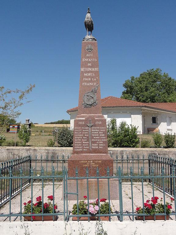 War Memorial Béthincourt