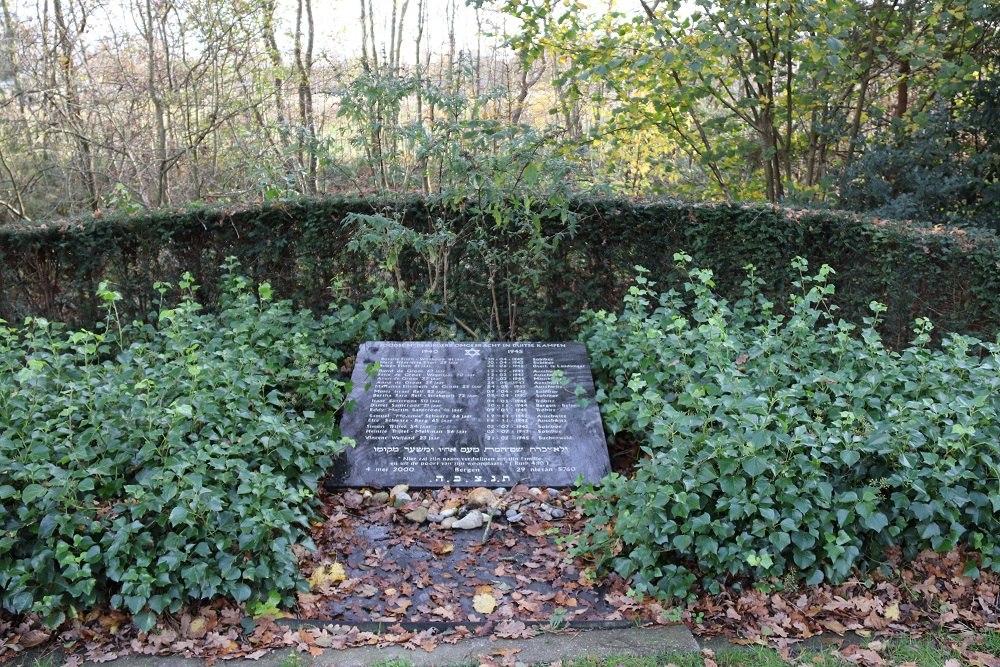 Monument Joodse Slachtoffers Algemene Begraafplaats Bergen