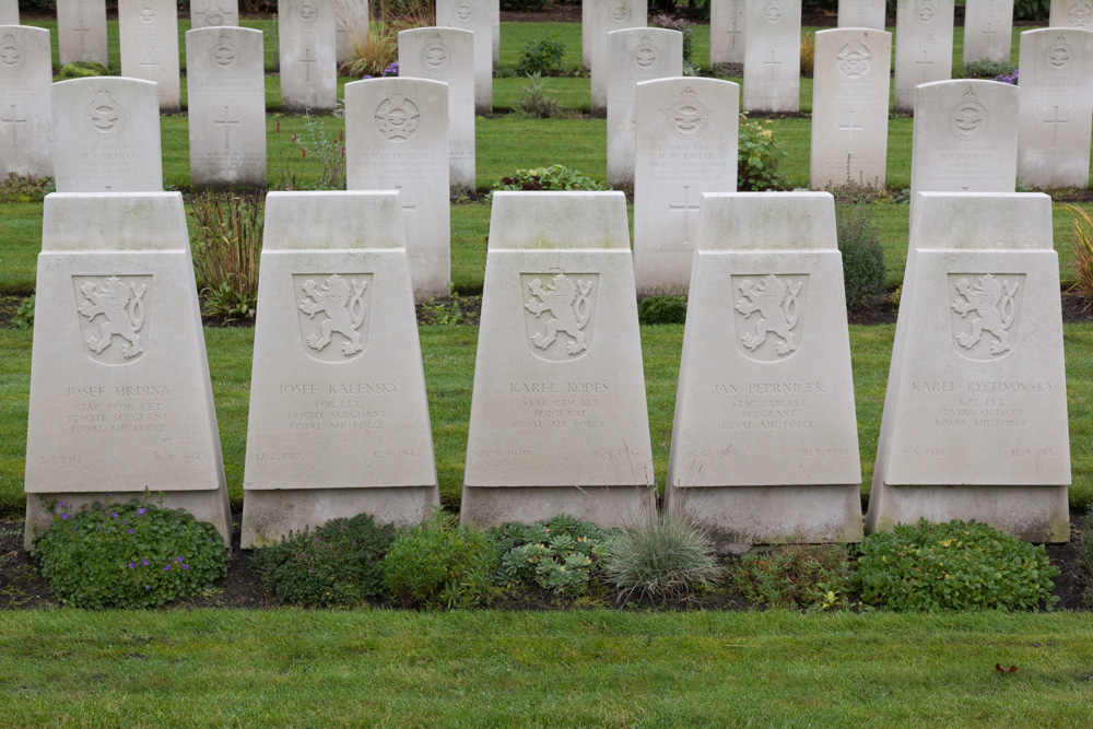 Tsjecho-Slowaakse Oorlogsgraven Gemenebest Begraafplaats Bergen op Zoom