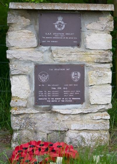 Monument RAF Ibsley en US Station 347