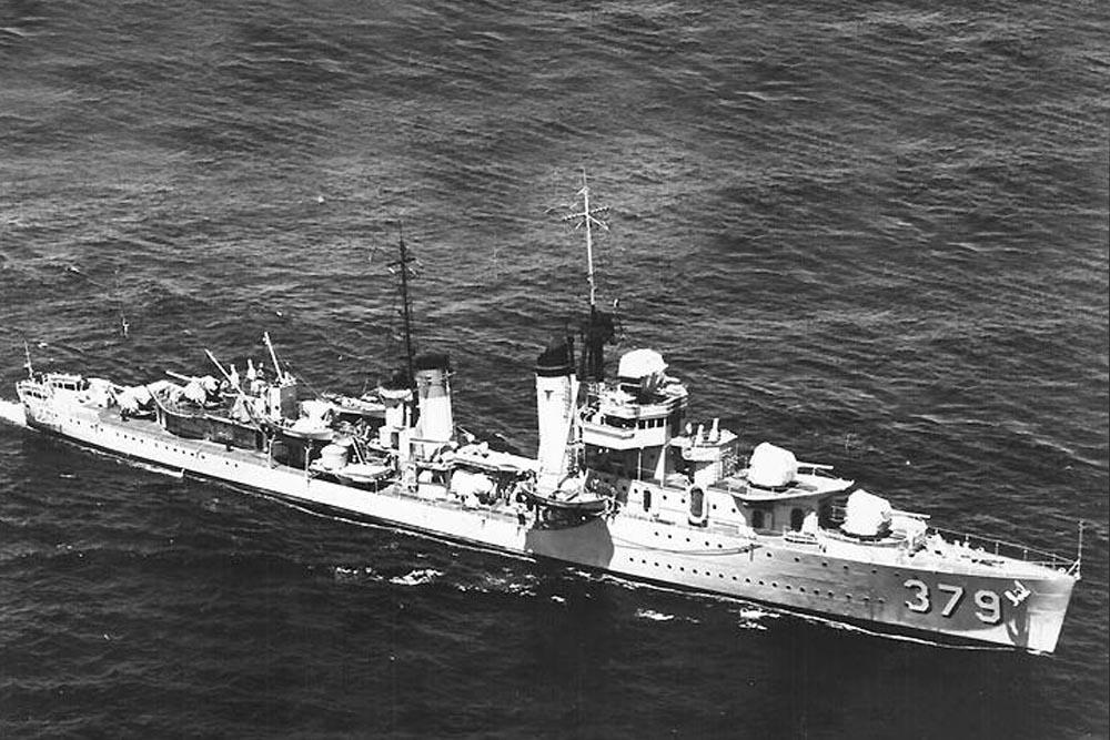 Scheepswrak USS Preston (DD-379)