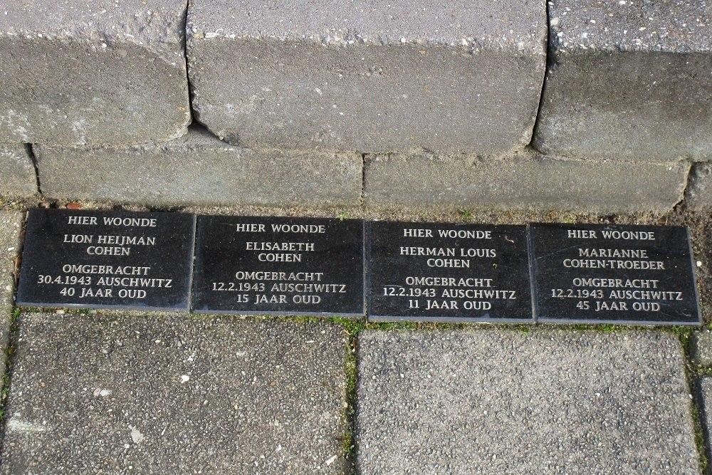 Herdenkingsstenen Zutphensestraat 127 II