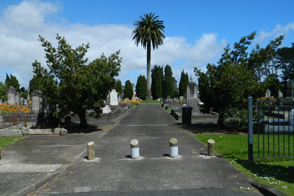 Oorlogsgraven van het Gemenebest Otahuhu Public Cemetery