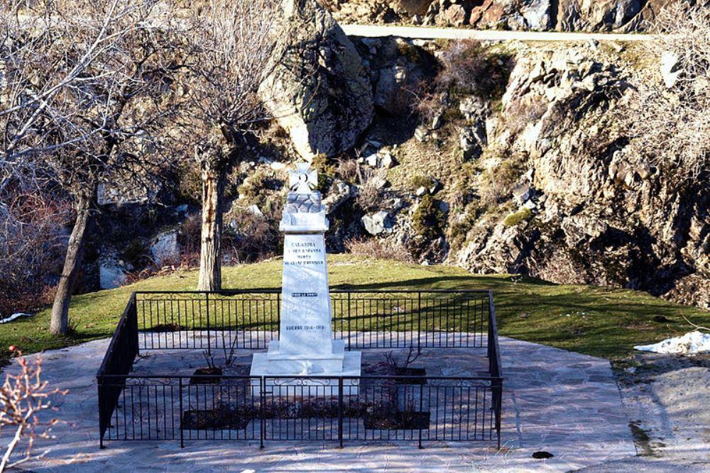 War Memorial Calasima