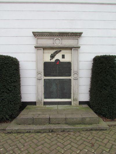 Monument 8e Linieregiment Meulebeke