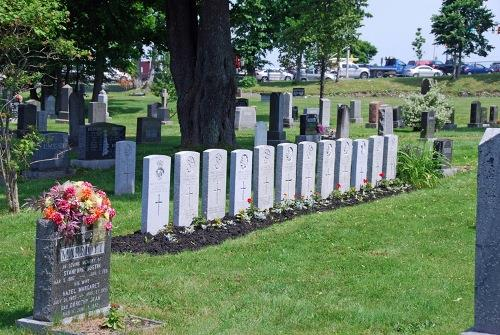 Commonwealth War Graves St. John's Cemetery