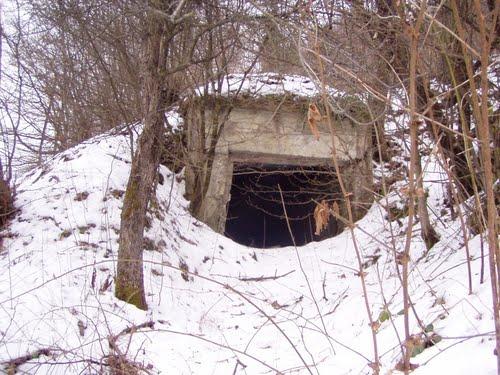 Árpádlinie - Bunker