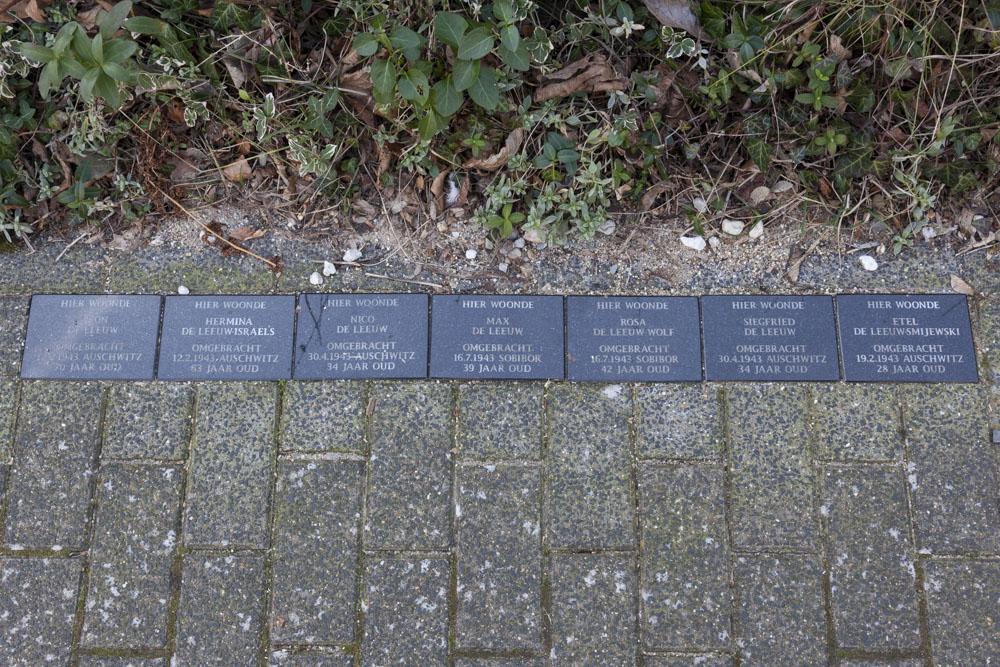 Herdenkingsstenen Catharina van Reestraat 10