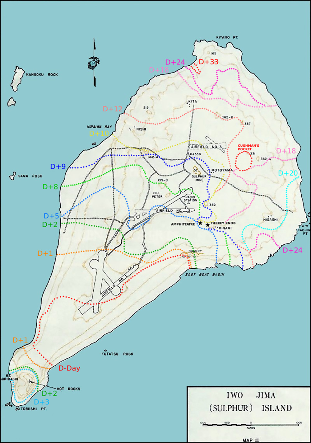 Iwo Jima - Turkey Knob