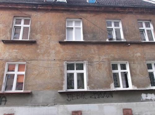 Kogelinslagen ul. Wiśniowa (Kraków)