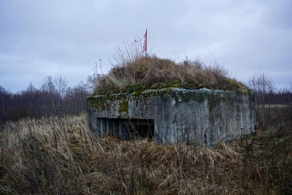 Soviet Artillery Pillbox Maloye Sirkovo