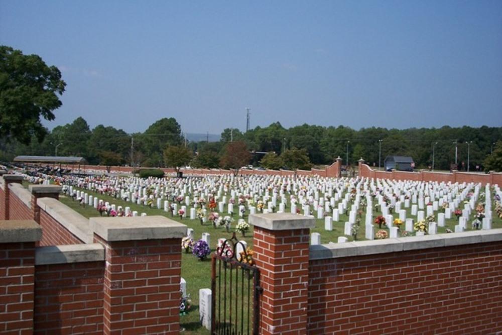 Amerikaanse Oorlogsgraven Fort Benning Post Cemetery