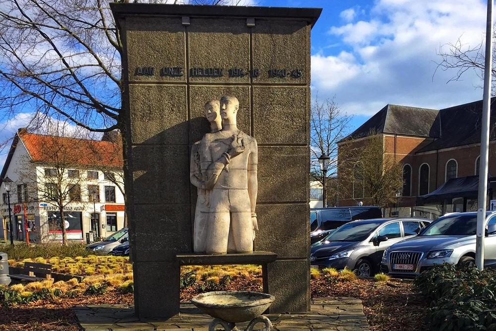 War Memorial First and Second World War Meerhout