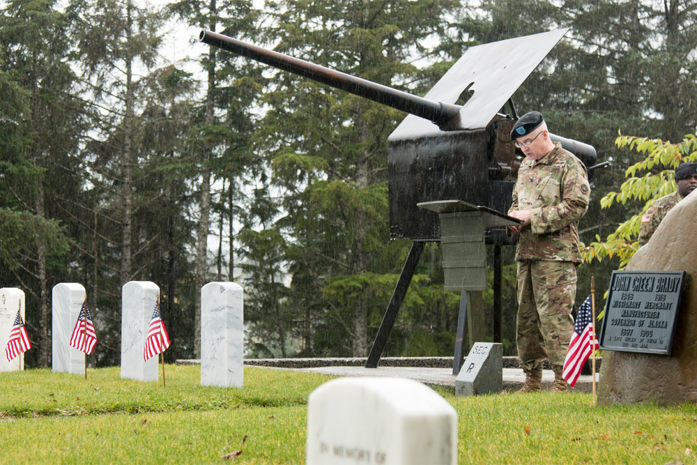 American War Graves Sitka