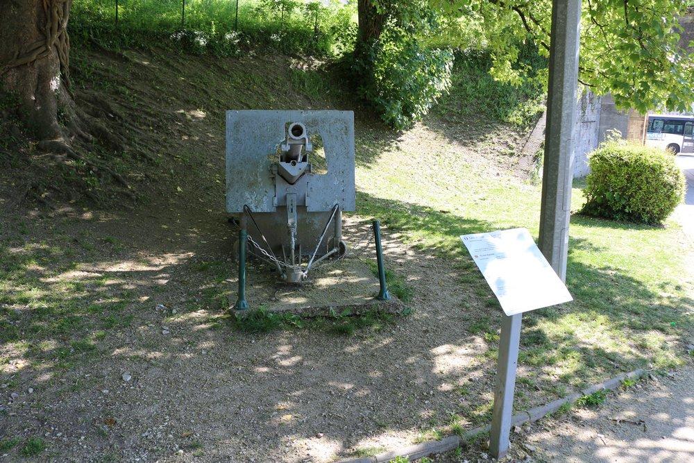 75mm Schneider Mle 1897 Fort-Kanon