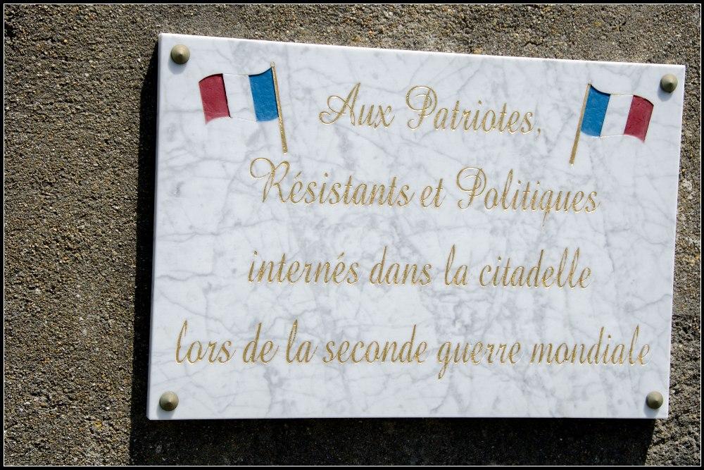 Remembrance plate Saint-Martin-de-Ré