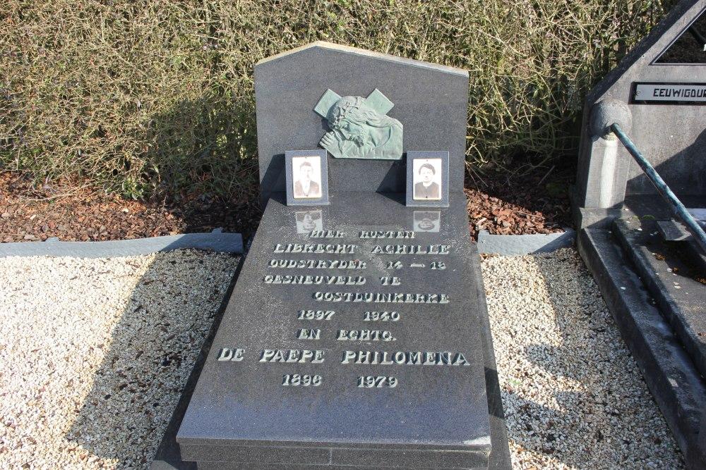 Belgian War Grave