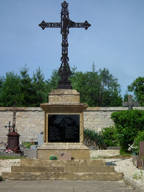 War monument Remoiville