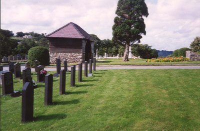 Commonwealth War Graves Bangor (Llandegai Road) Cemetery
