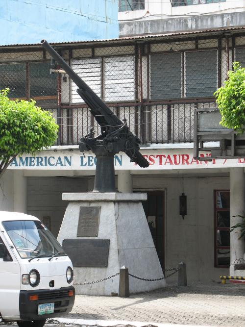 Japanese Deck Gun (Oryoku Maru Memorial)