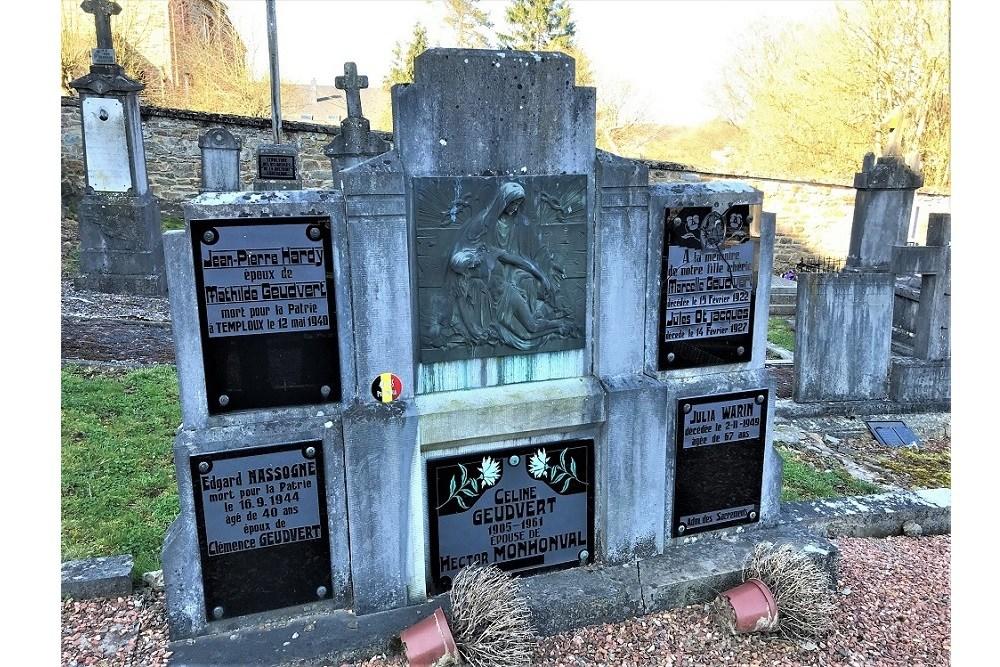 Belgische Oorlogsgraven Transinne