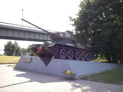 Bevrijdingsmonument (T-34/85 Tank) Kirovsk