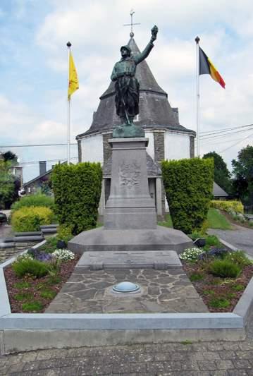 Oorlogsmonument Lierneux - Pont Lienne
