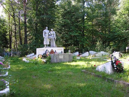 Soviet War Cemetery Maksatikha