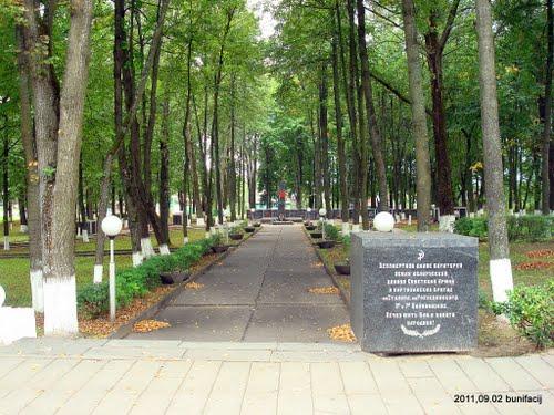 Sovjet Oorlogsbegraafplaats Rasony