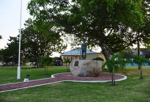 Monument Schutterij en Vrijwilligerskorps Aruba