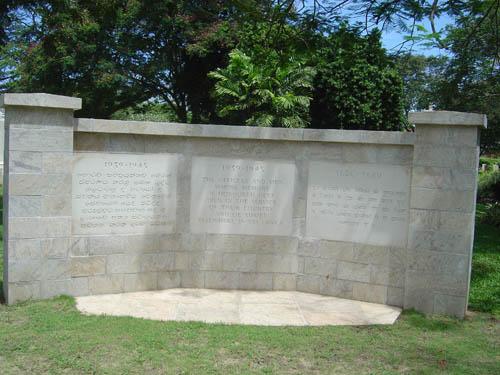 Liveramentu Memorial Tablets 1939-1945
